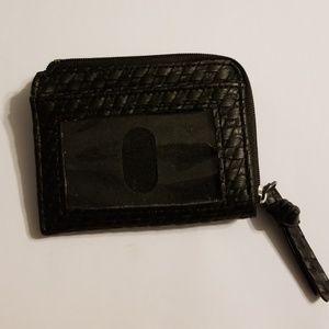 Handbags - Card ID holder woven vegan leather